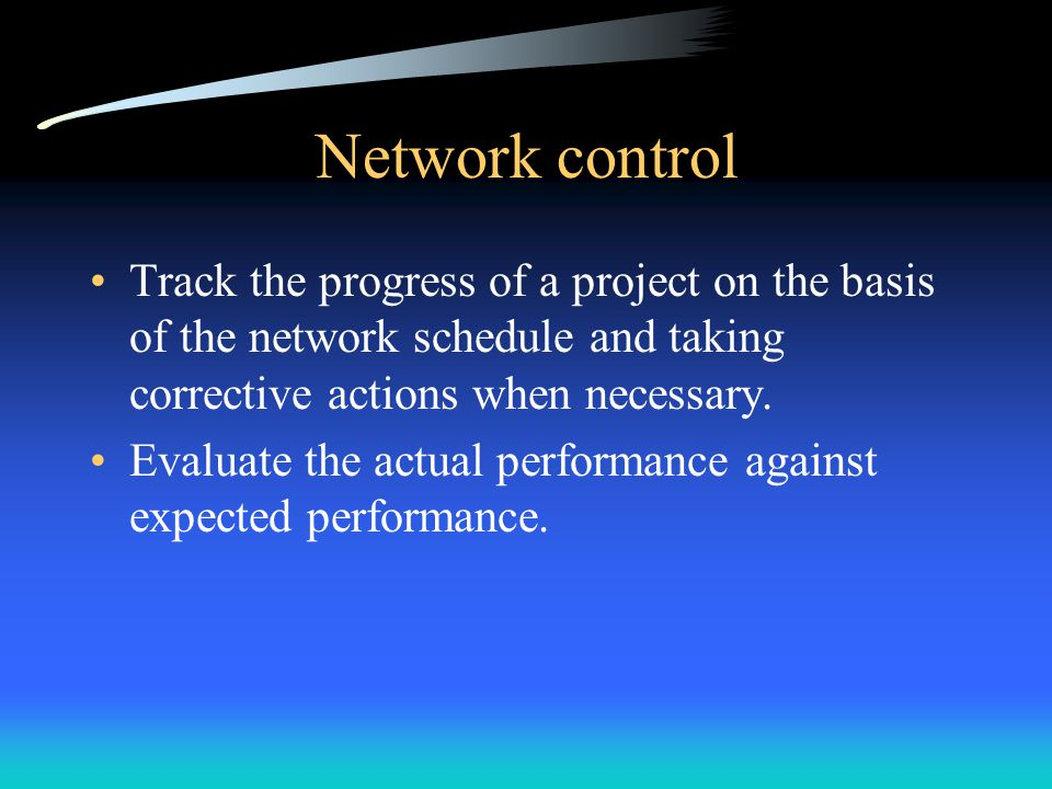 PERT/CPM Node Arrow Predecessor SuccessorMerge point Burst point