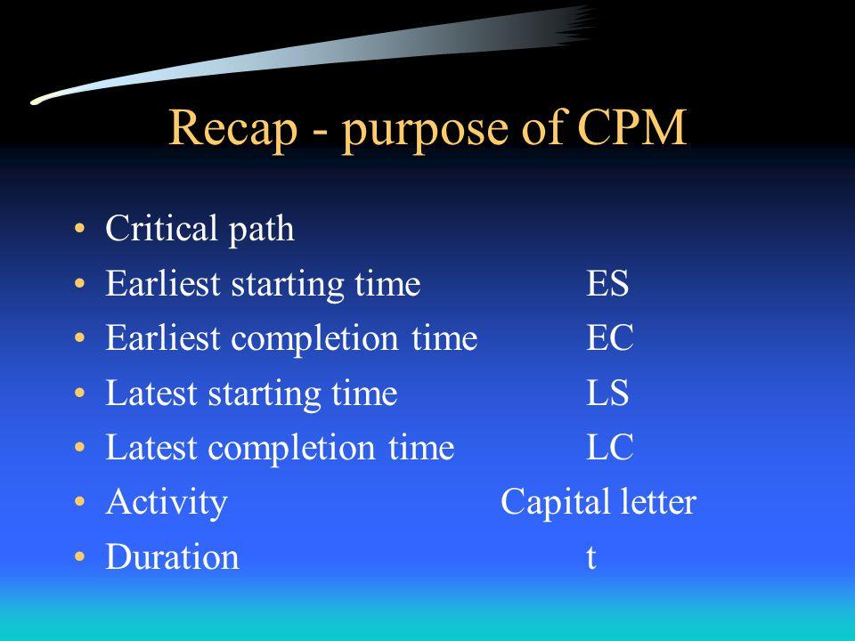 PERT PERT is an extension of CPM.