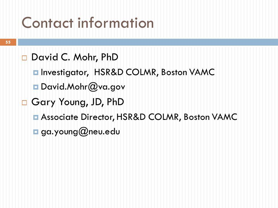Contact information  David C.