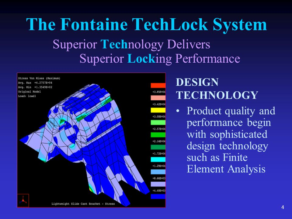 15 The Fontaine TechLock System Superior Technology Delivers Superior Locking Performance Increased Surface Area = Increased Stability Simplex Lite 552.7 sq.