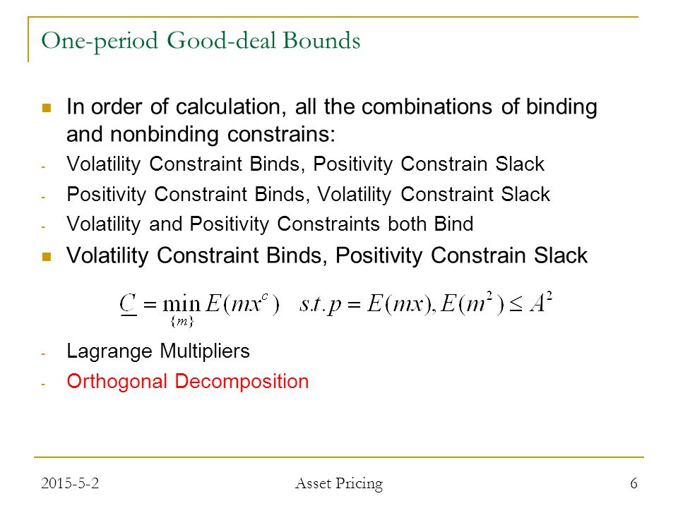 Subject to the boundary conditions provided by the focus asset payoff.