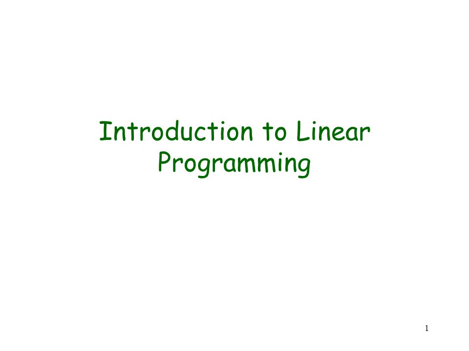 22 Lemma 2: Given a linear program (A, b, c), suppose the call to INITIALIZE-SIMPLEX in line 1 of SIMPLEX returns a slack form for which the basic solution is feasible.