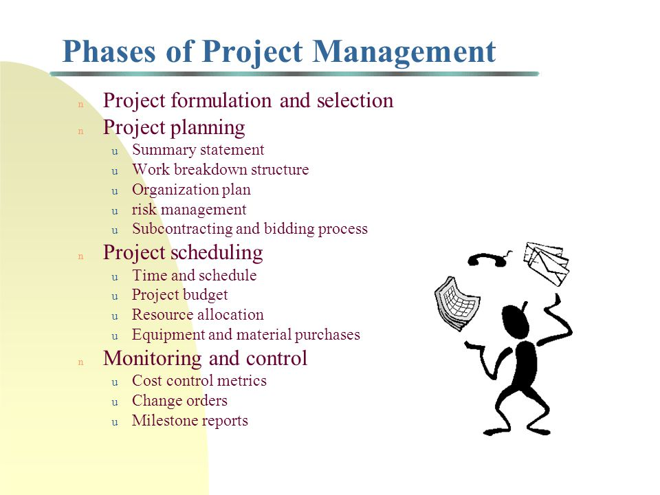 Project Selection Example