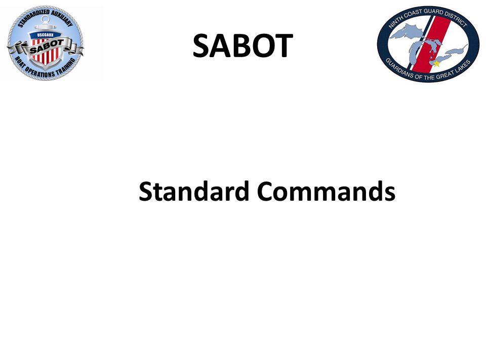 SABOT Standard Commands