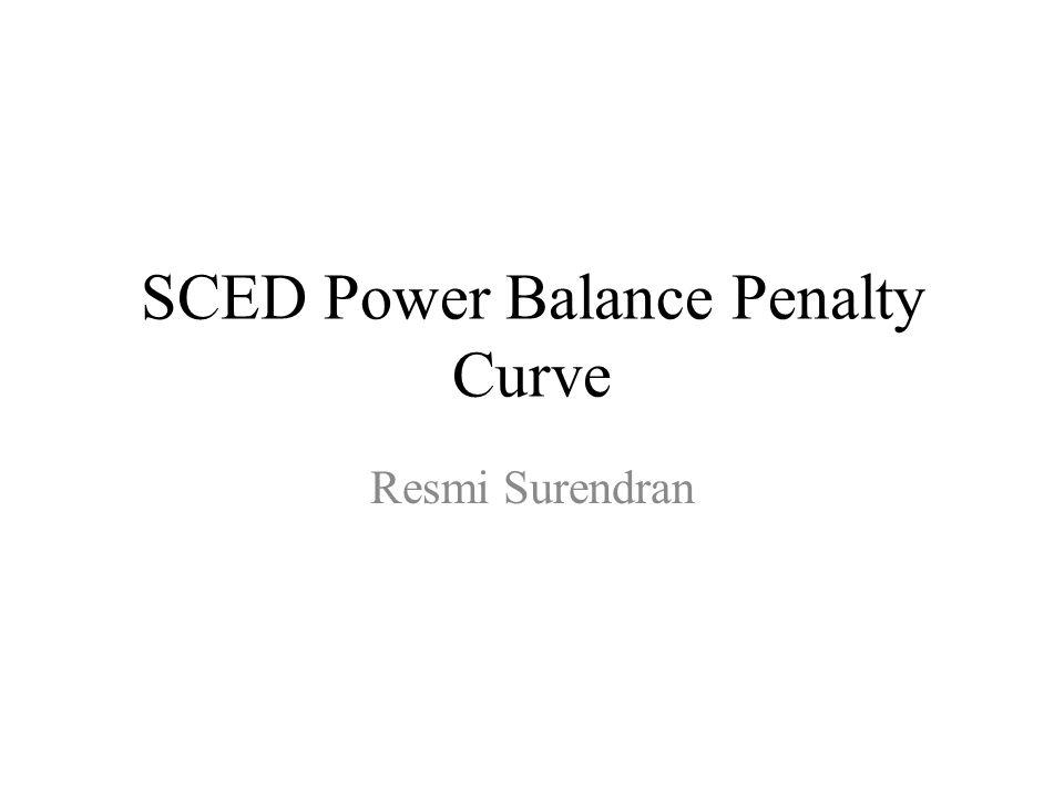 SCED Power Balance Penalty Curve Resmi Surendran