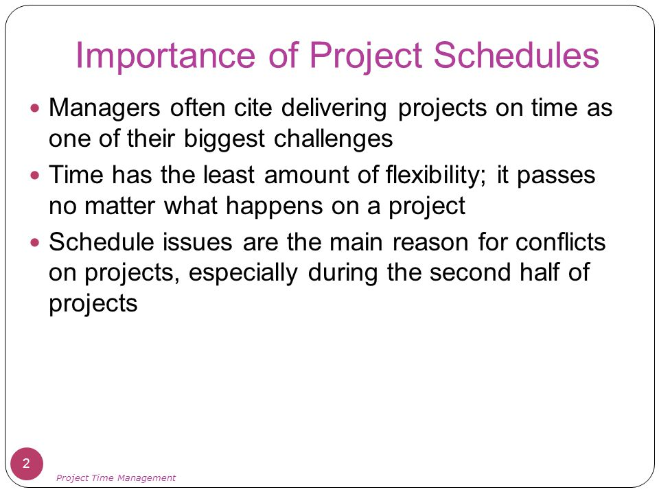Critical Chain Scheduling Critical Chain Project Management (CCPM), developed by Eliyahu M.