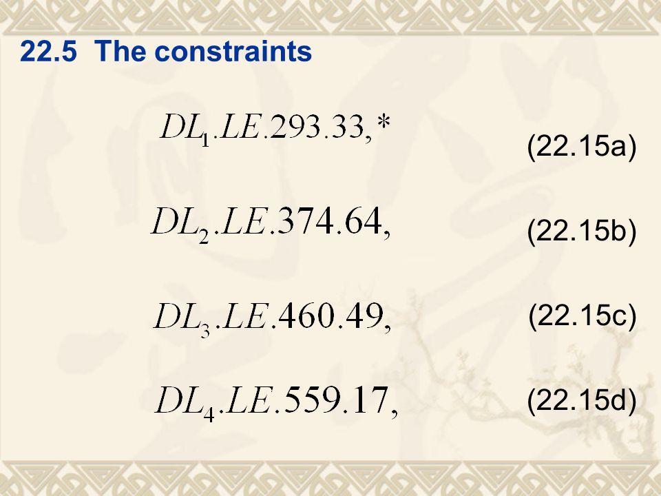 (22.15a) (22.15b) (22.15c) (22.15d)