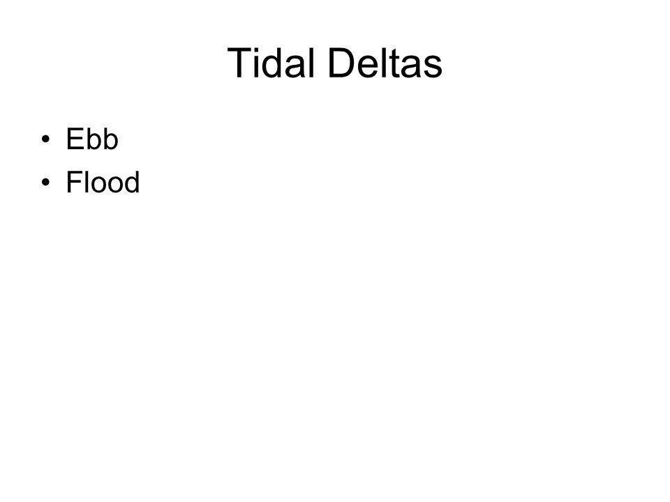 Tidal Deltas Ebb Flood