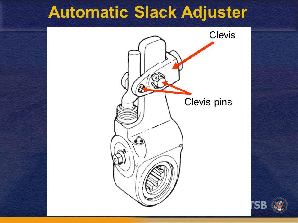 Clevis Clevis pins Automatic Slack Adjuster