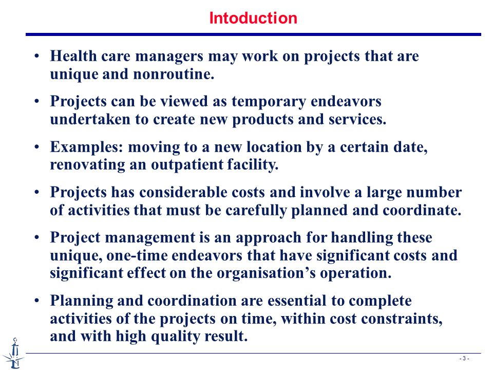 - 34 - Resource considerations n In general, the inclusion of resource constraints has the following effects: n The total amount of scheduled slack is reduced n The critical path may be altered.