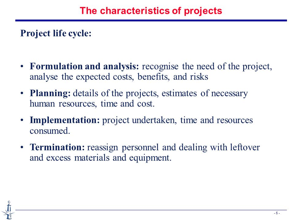 - 36 - Resource considerations n Example: Consider the project network below.
