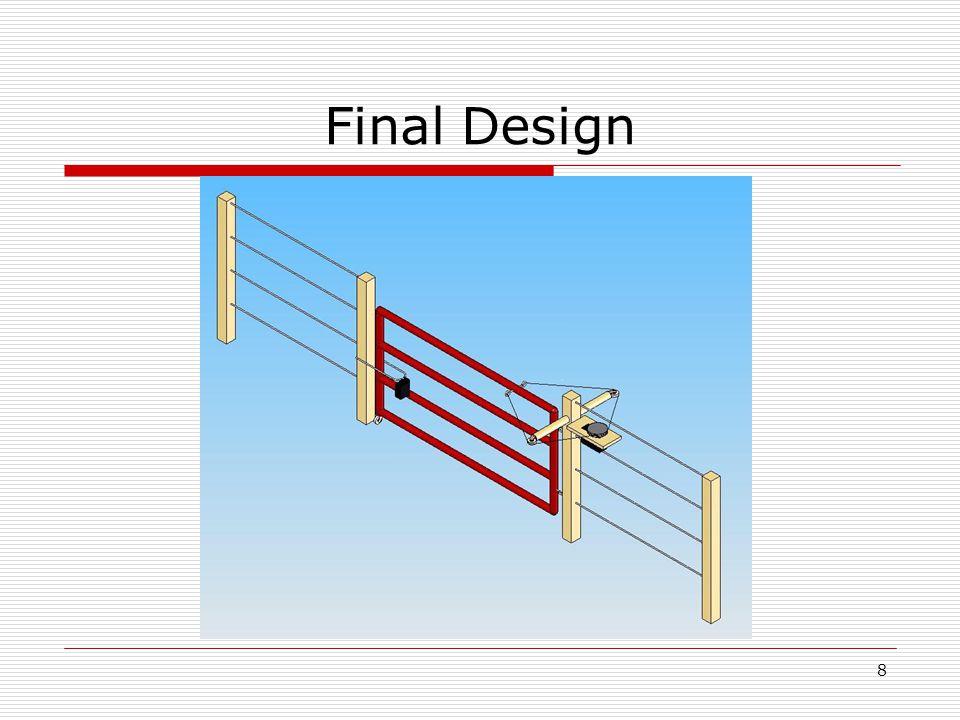 8 Final Design