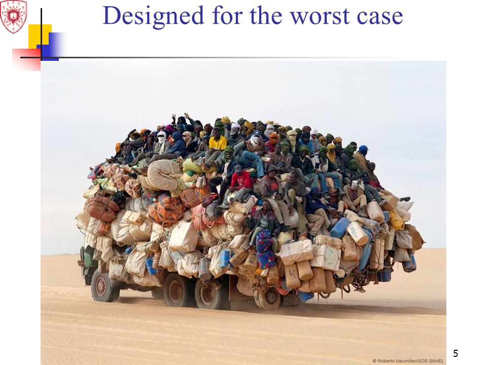 5 Designed for the worst case