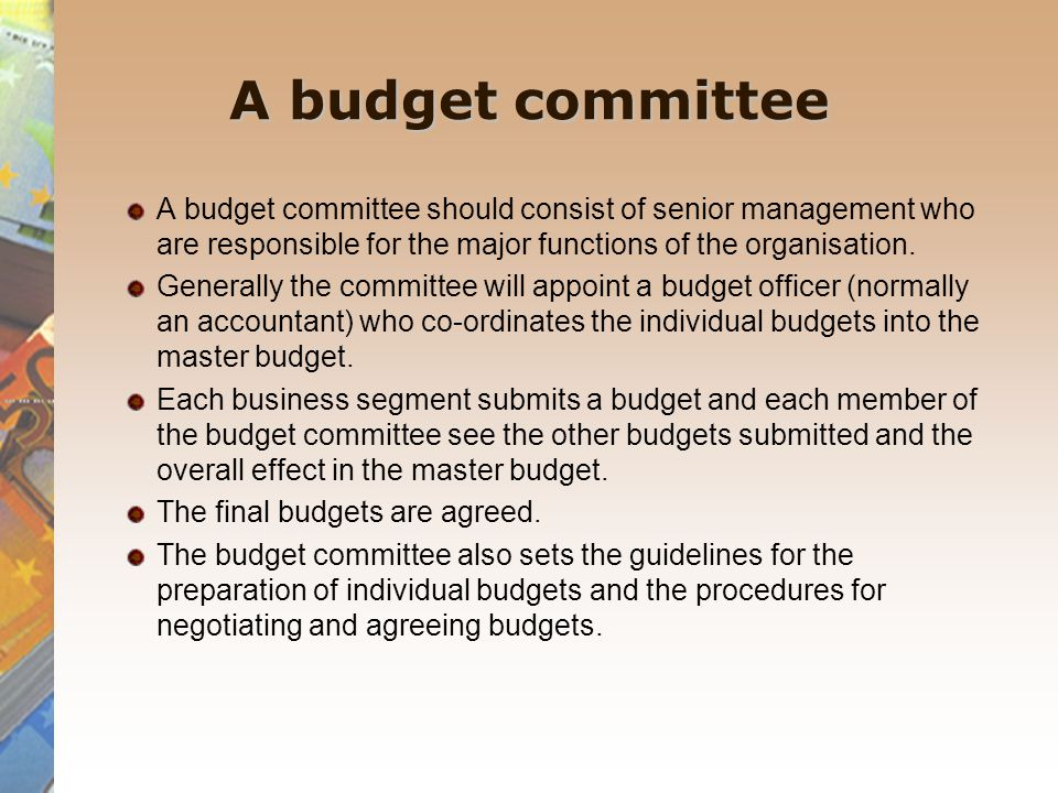 A budget manual A budget manual outlines the objectives, rules, regulations and procedures involved in the budgetary process.