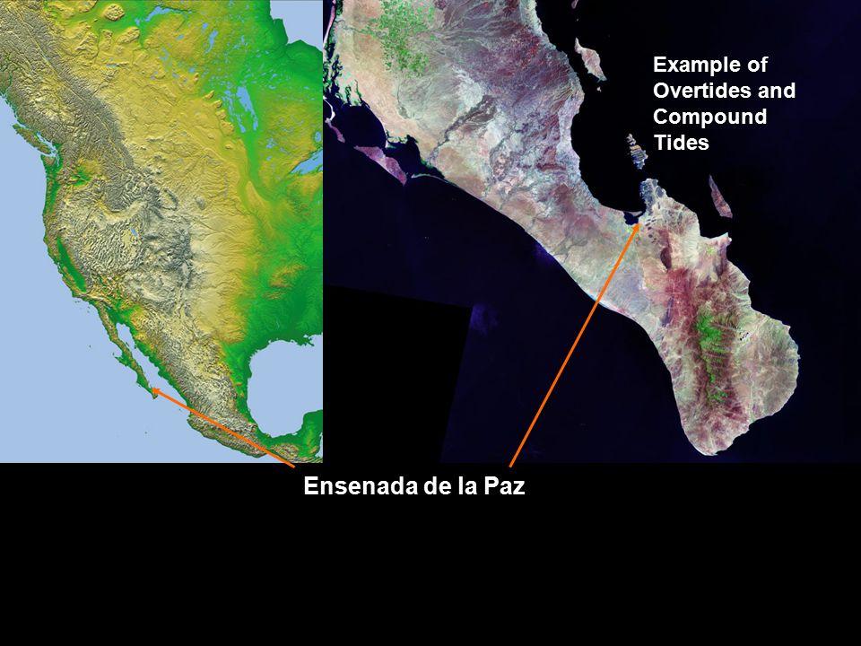 Ensenada de la Paz Example of Overtides and Compound Tides