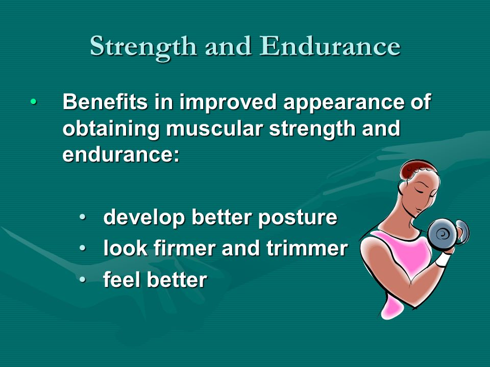 Safety precautions for weight lifting –Warm up properly before beginning the training programs –As you are learning new exercises when starting a weight training program, use low weights and high repetitions.