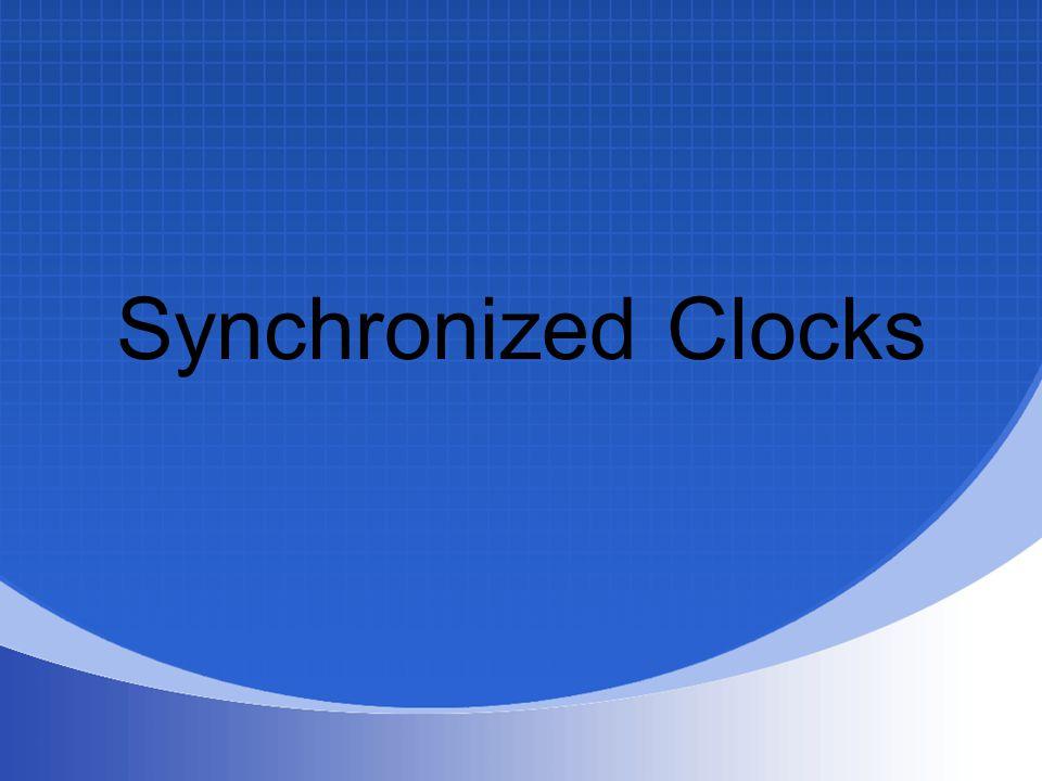 Synchronized Clocks