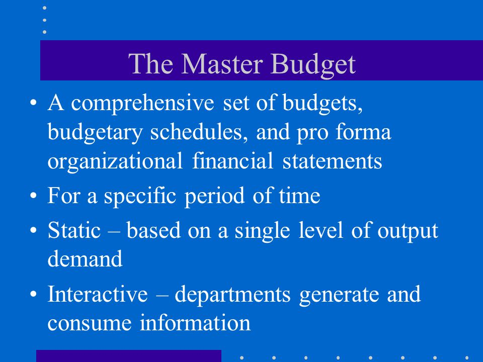 Activity Budget Connect line items in budget to list of activities Raise awareness of non-value-added activities Question and reduce non-value-added costs Budget