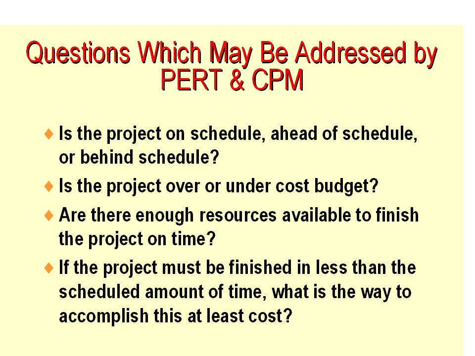 Fall 2001BA 301 - Project Management8