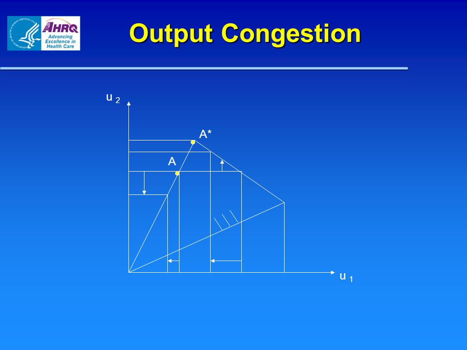 Output Congestion u 2 u 1 A A*