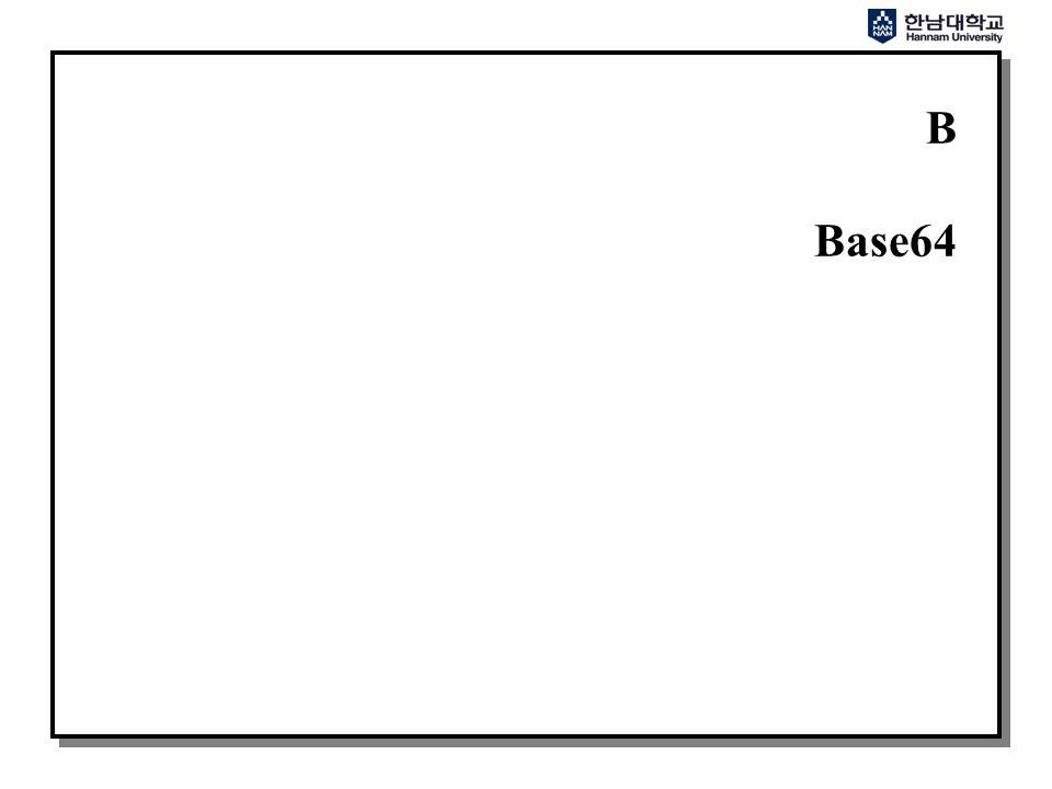 B Base64