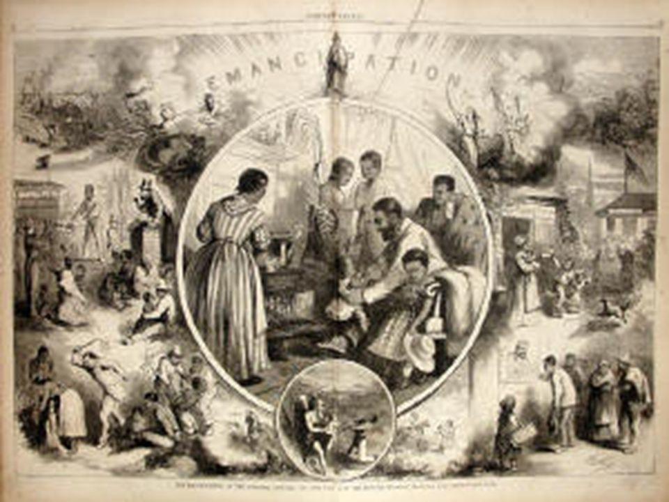 The Civil War Ends General Robert E. Lee surrendered to General Ulysses S. Grant in Virginia.