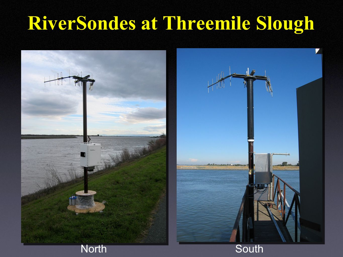 RiverSondes at Threemile Slough NorthSouth