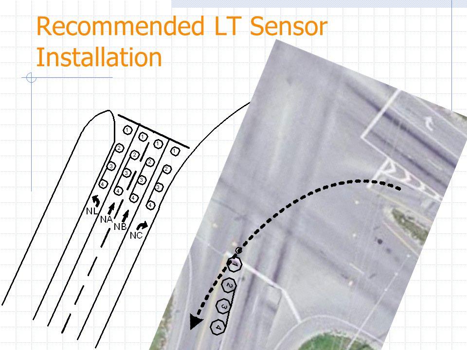 Recommended LT Sensor Installation