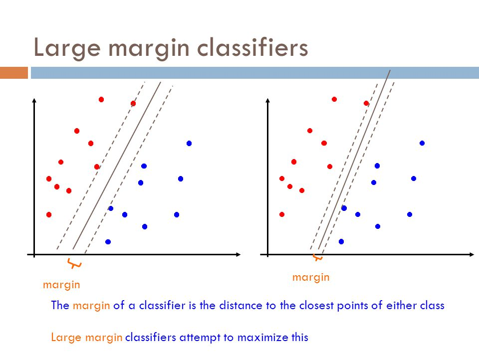 Soft margin SVM as gradient descent One way to solve the soft margin SVM problem is using gradient descent hinge loss L2 regularization