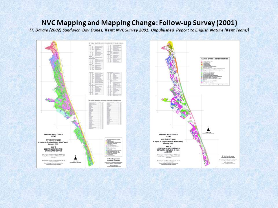 NVC Mapping and Mapping Change: Third Survey (2008) Royal St George's Golf Club (T.