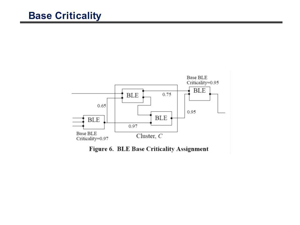Base Criticality