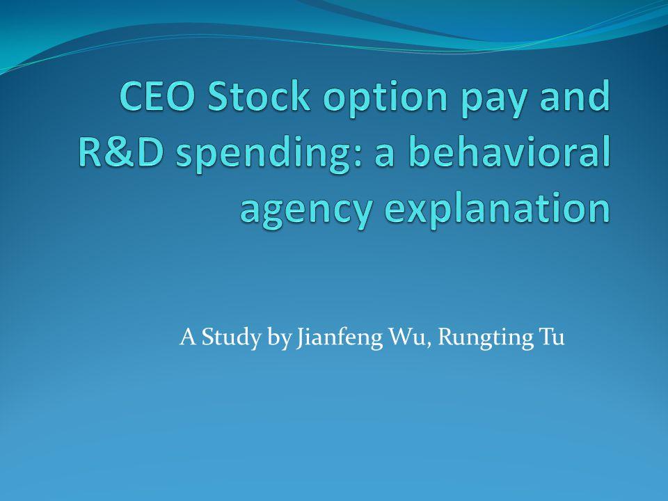 A Study by Jianfeng Wu, Rungting Tu