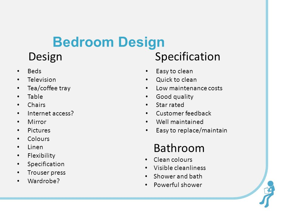 Bedroom Design Design Beds Television Tea/coffee tray Table Chairs Internet access.