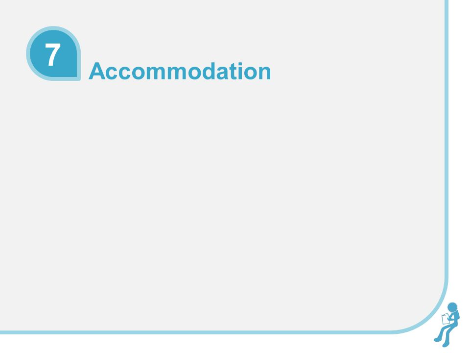 Activity 1 In groups, consider the best and worst design features in hotels and other accommodation you have stayed in Present your Top 3 and Worst 3 to the rest of the group!