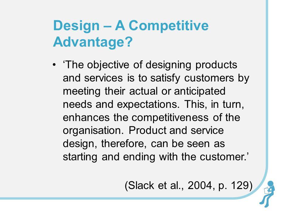 Design – A Competitive Advantage.