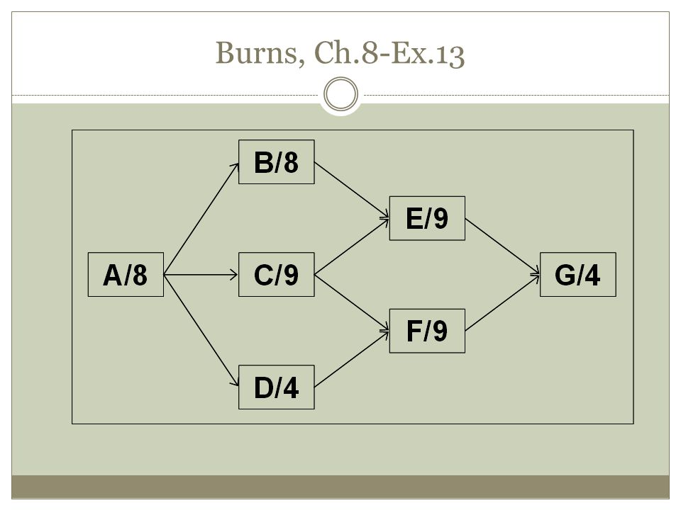 Burns, Ch.8-Ex.13