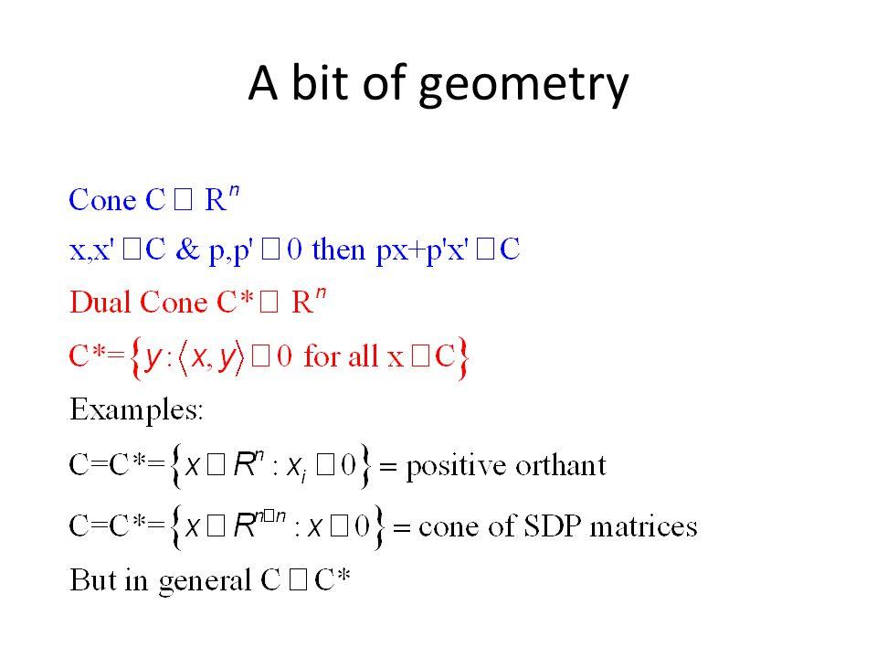 A bit of geometry
