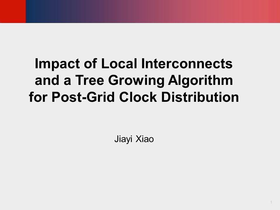 © KLMH Lienig Tree Growing Algorithm, Continued 22 Figure 12: Comparison between (b) the nearest source heuristic and (c) tree-growing algorithm