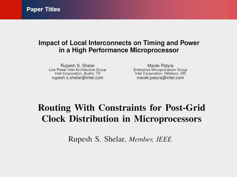 © KLMH Lienig Impact of Interconnects on Timing in RLS/SDP Blocks  Local interconnects are believed to cause major impact on timing, power and routability in VLSI design  Interconnects generally affect the timing and power in the following ways  Wire delay  Cell delay degradation  Slope degradation  Delays due to the repeaters 3