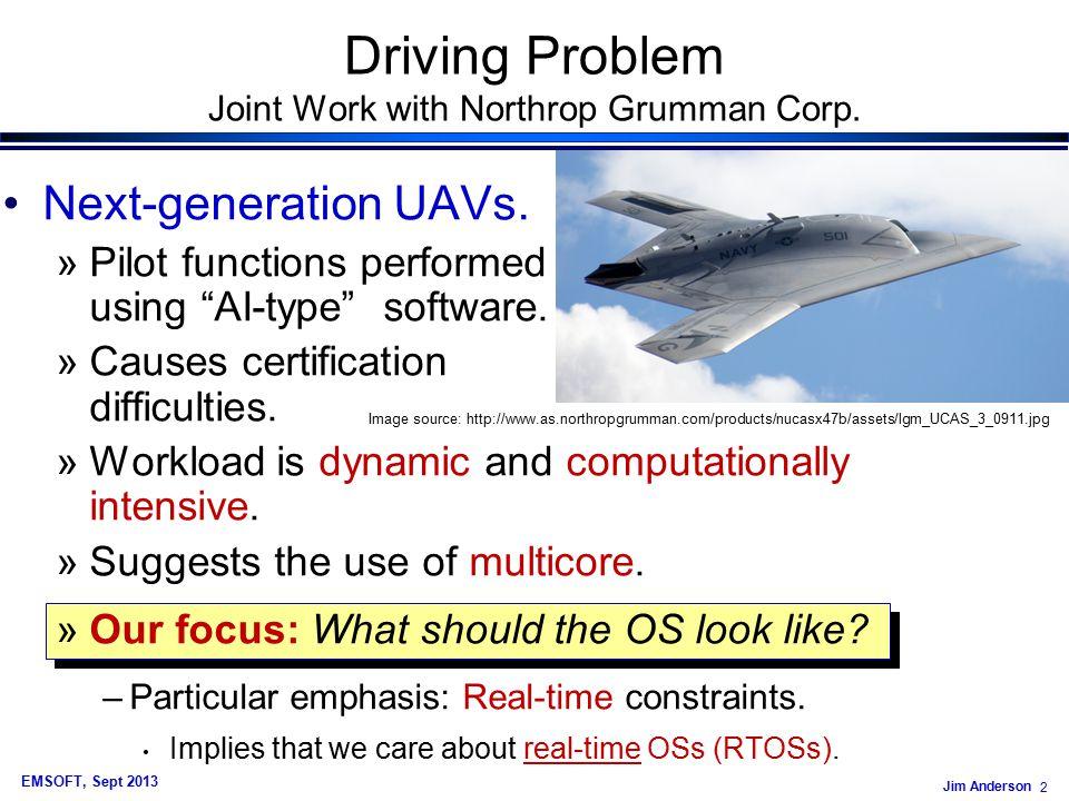 Jim Anderson 73 EMSOFT, Sept 2013 Example Graph Avg.