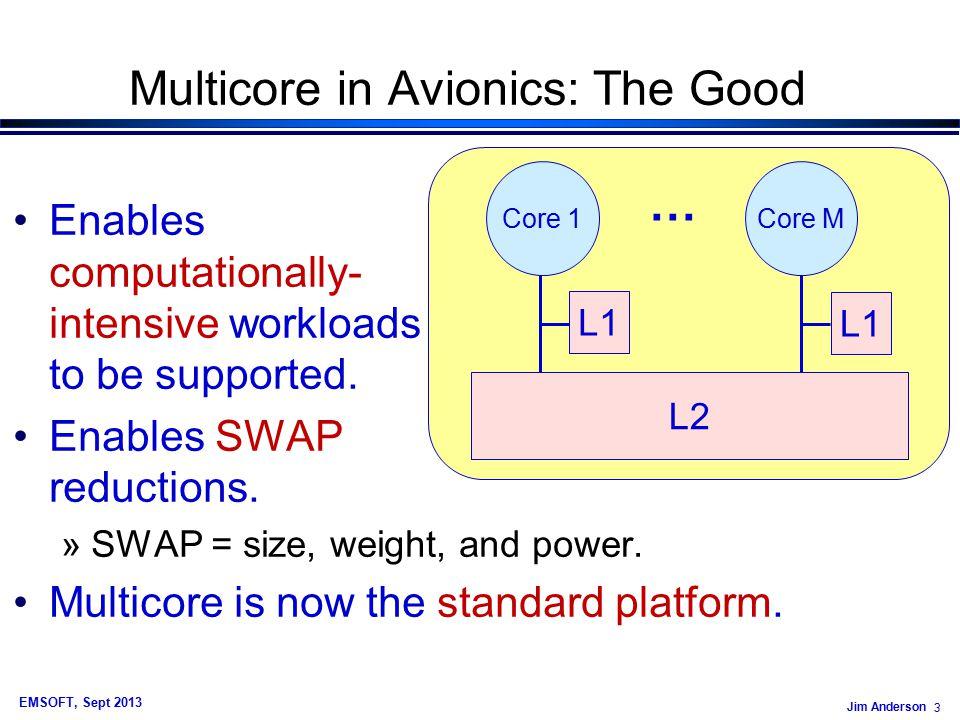 Jim Anderson 74 EMSOFT, Sept 2013 Example Graph Avg.