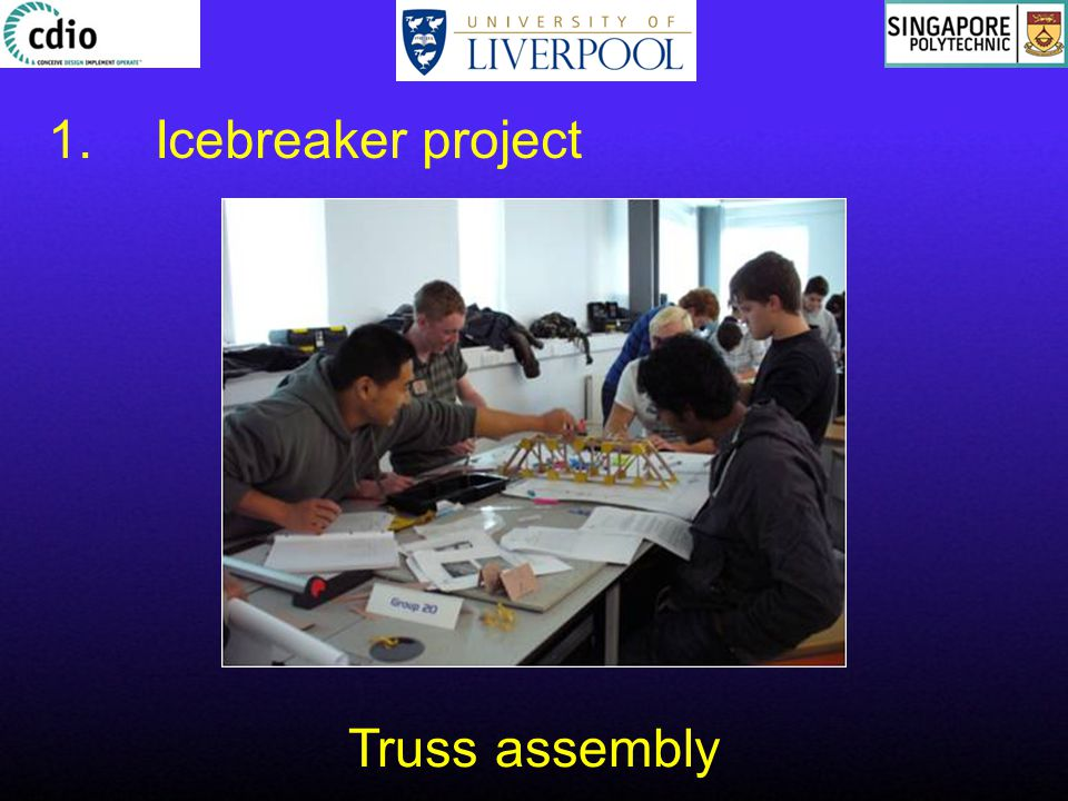 1.Icebreaker project Truss assembly
