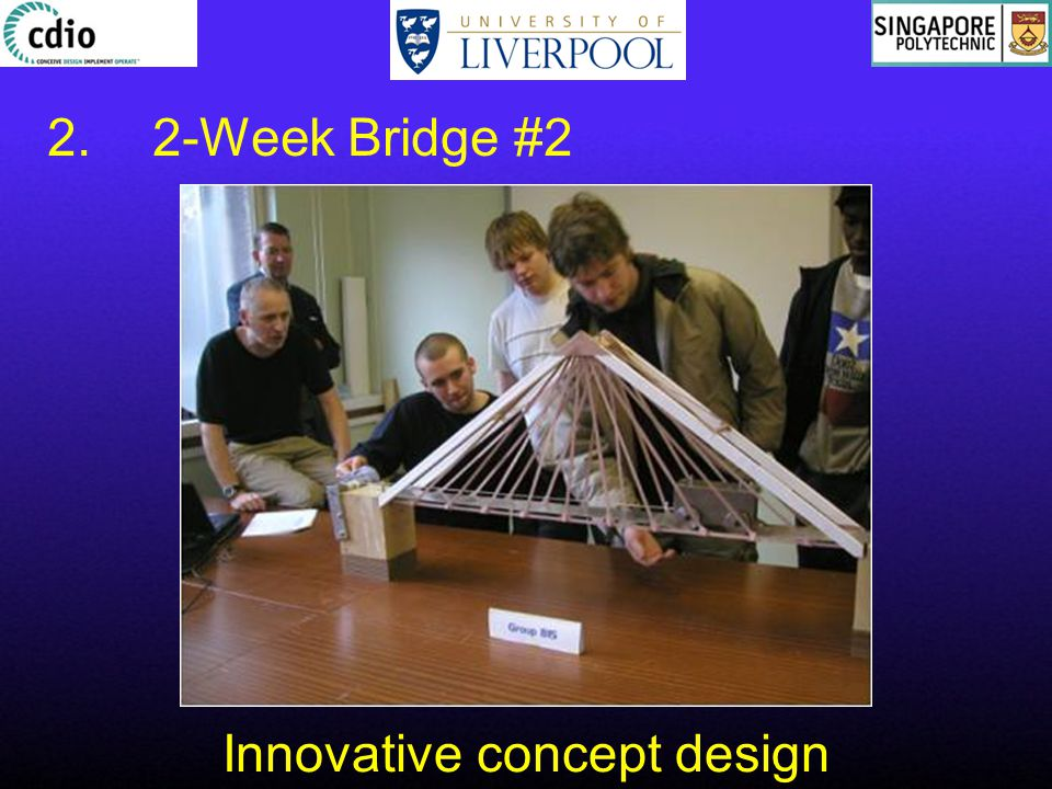 Innovative concept design 2.2-Week Bridge #2