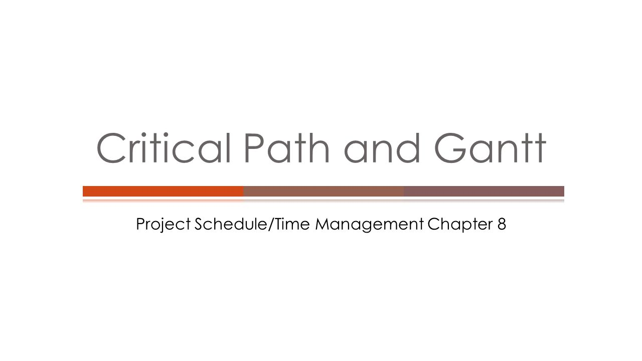  Gantt charts provide a standard format for displaying project schedule information by listing project activities and their corresponding start and finish dates in a calendar format  Symbols include:  A black diamond: a milestones  Thick black bars: summary tasks  Lighter horizontal bars: durations of tasks  Arrows: dependencies between tasks Gantt Charts