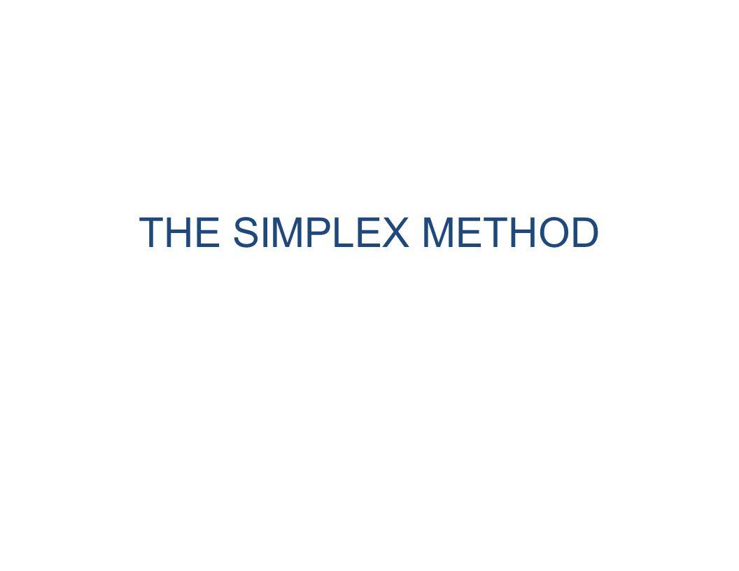 1234Supply 1121346 500 u 1 2641011 700 u 2 3109124 800 u 3 Demand400 v 1 900 v 2 200 v 3 500 v 4 20000 33 Yinyu Ye, Stanford, MS&E211 Lecture Notes #7 The Transportation Example