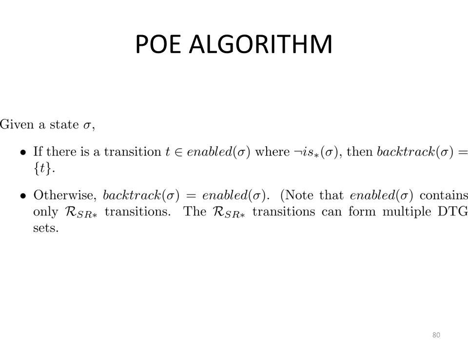 POE ALGORITHM 80