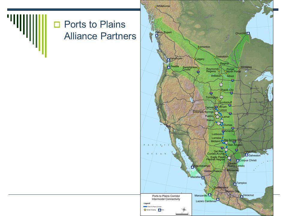  Ports to Plains Alliance Partners