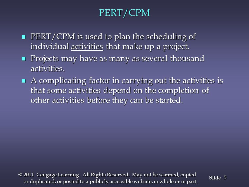 36 Slide © 2011 Cengage Learning.All Rights Reserved.