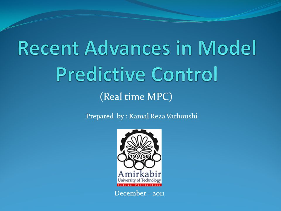 The philosophy behind MPC