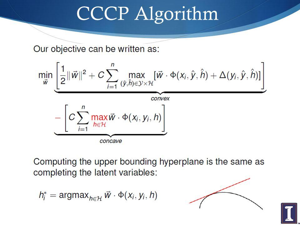 CCCP Algorithm